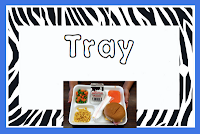 Photo of tray lunch poster