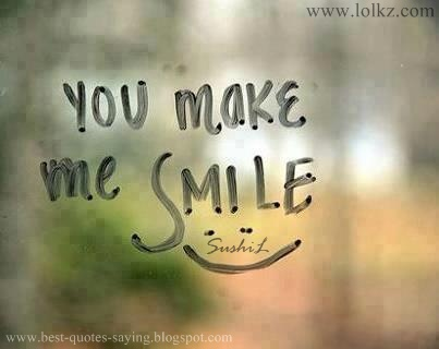 Quotes You Make Me Smile Cool Best Quotes And Sayings You Make Me Smile.