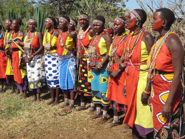 Masai women (Photo Keri Muller)