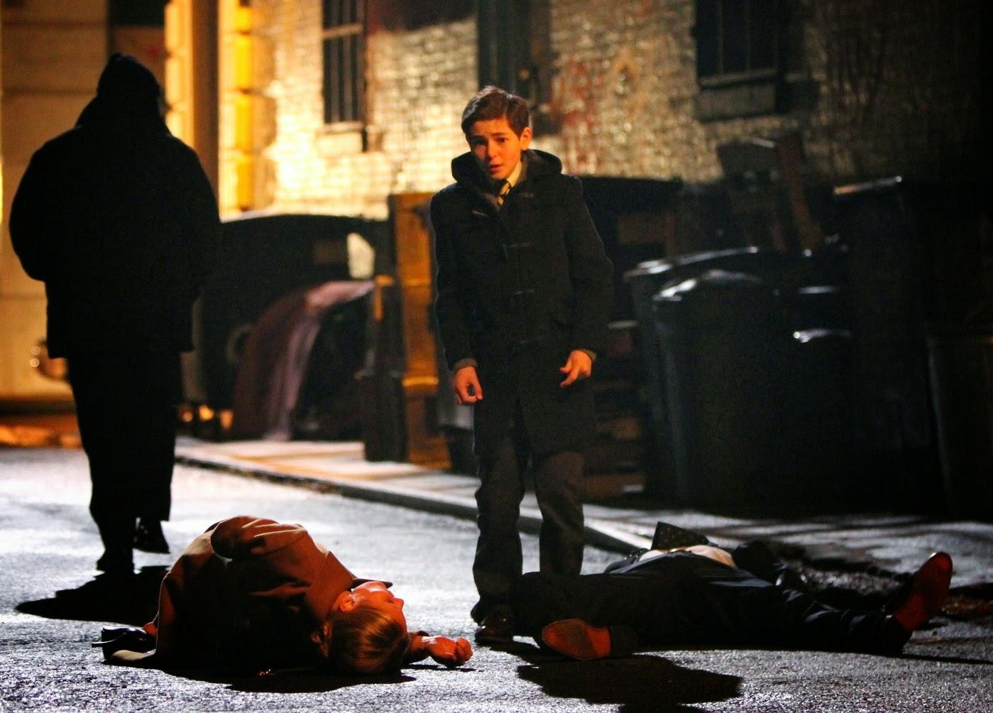 La muerte de los padres de Bruce Wayne en la serie Gotham