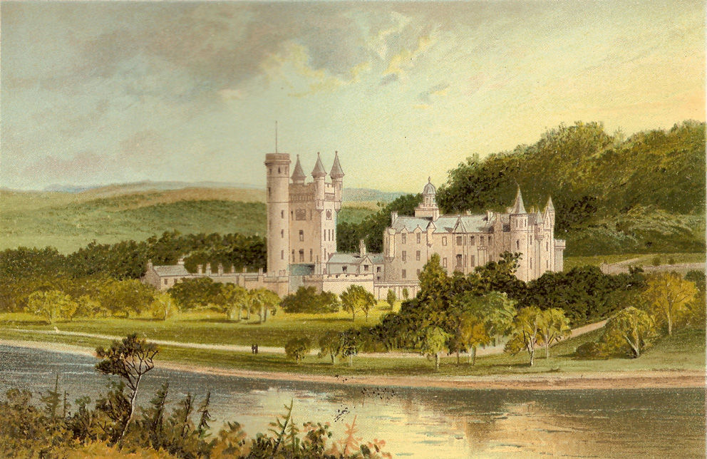 Royal Residences Of Queen Victoria on inside balmoral castle