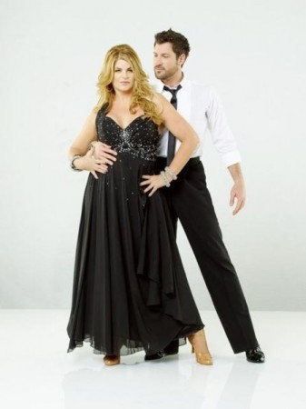 kirstie alley dancing with stars pics. Kirstie Alley and Maksim