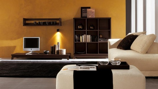 Imbiancare casa idee: Idee per imbiancare le pareti di un soggiorno etnico
