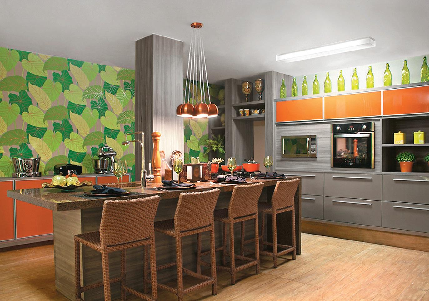 Design de Interiores : Papel de Parede idéias de aplicação #B25619 1373 965