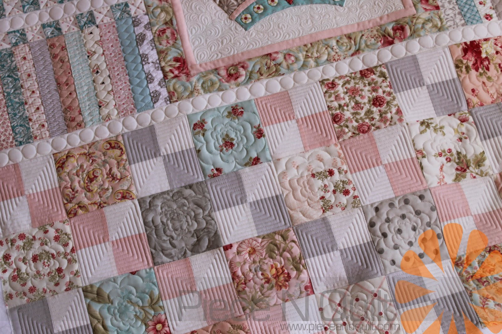 Piece N Quilt Shabby Chic Meets Geometric Quilting