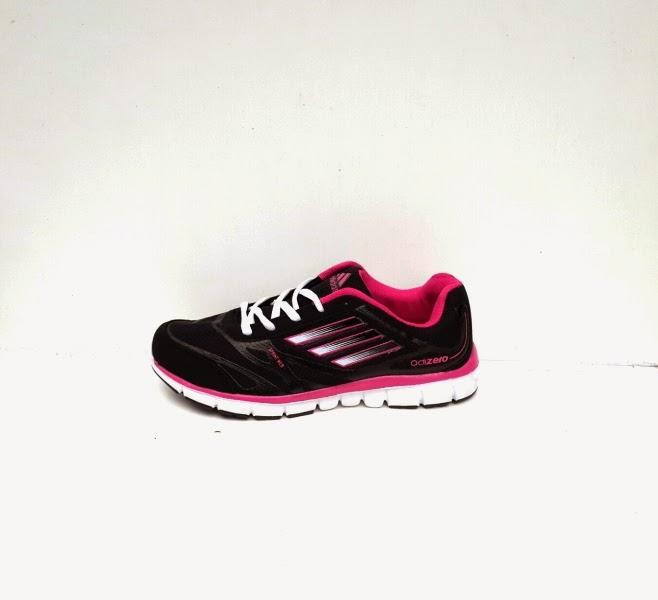 Sepatu Adidas Adizero Women hitam pink