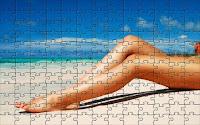 Hot beach puzzle