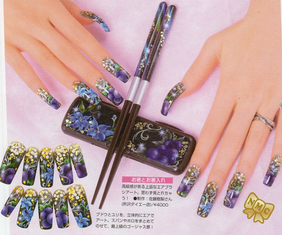 May nail inspiration, Japanese nail art and decoden