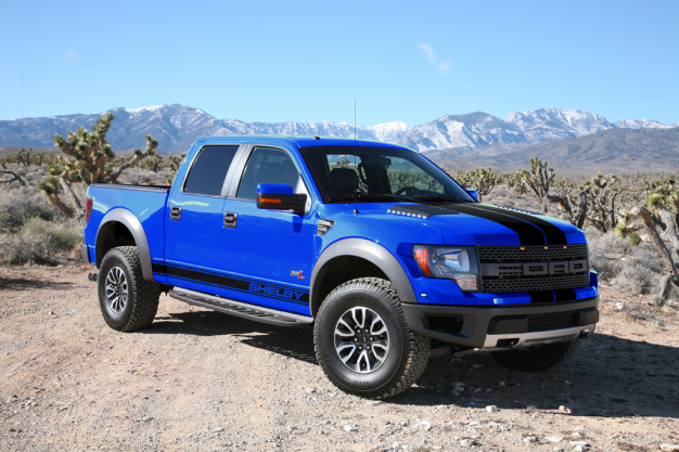 Shelby American Rolls Out The Ford F-150 SVT Shelby Raptor