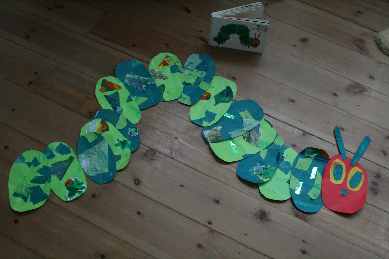 The Very Hungry Caterpillar Wall Collage : hungry caterpillar paper plates - pezcame.com