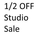 EarlyBird and Studio Sale