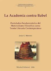 La Academia contra Babel. Postulados del Materialismo Filosófico como teoría literaria