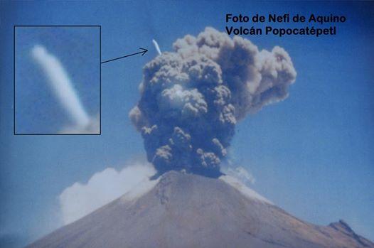 EBANI Ingresando al Volcán Popocatepetl