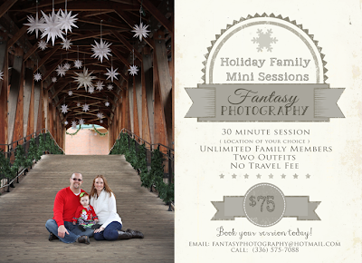christmas family photography sessions in winston salem nc
