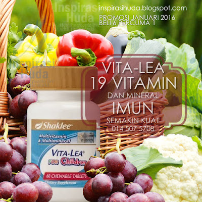 Vitalea for Children, Imun, Vitamin Kanak kanak, Anggur, Produk Shaklee