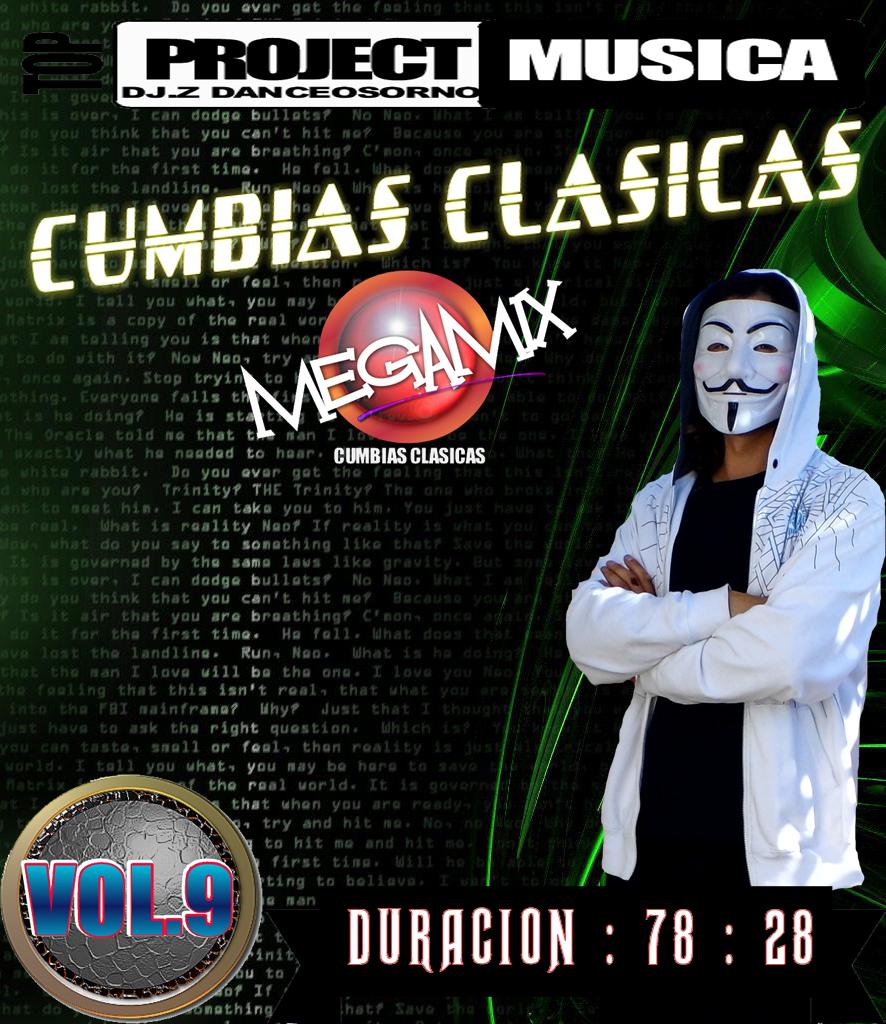 MEGAMIX CUMBIAS CLASICAS VOL.9