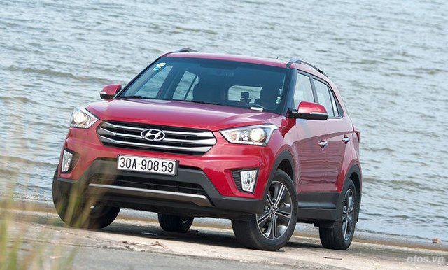 Cầm lái mẫu SUV cỡ nhỏ Hyundai Creta