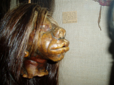 how to make fake shrunken heads
