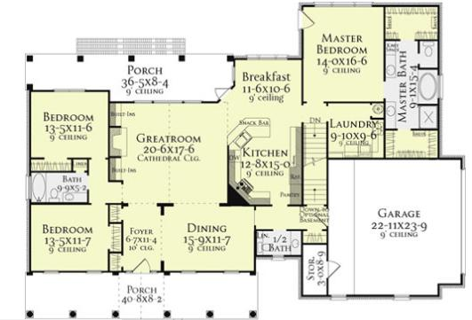 Planos de casas modelos y dise os de casas planos de for Plantas de casas de un piso