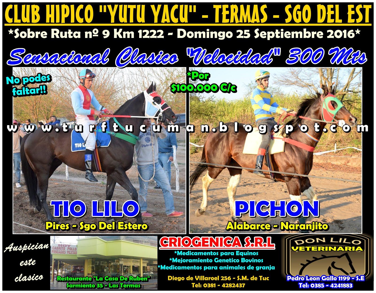 PICHON VS TIO LILO