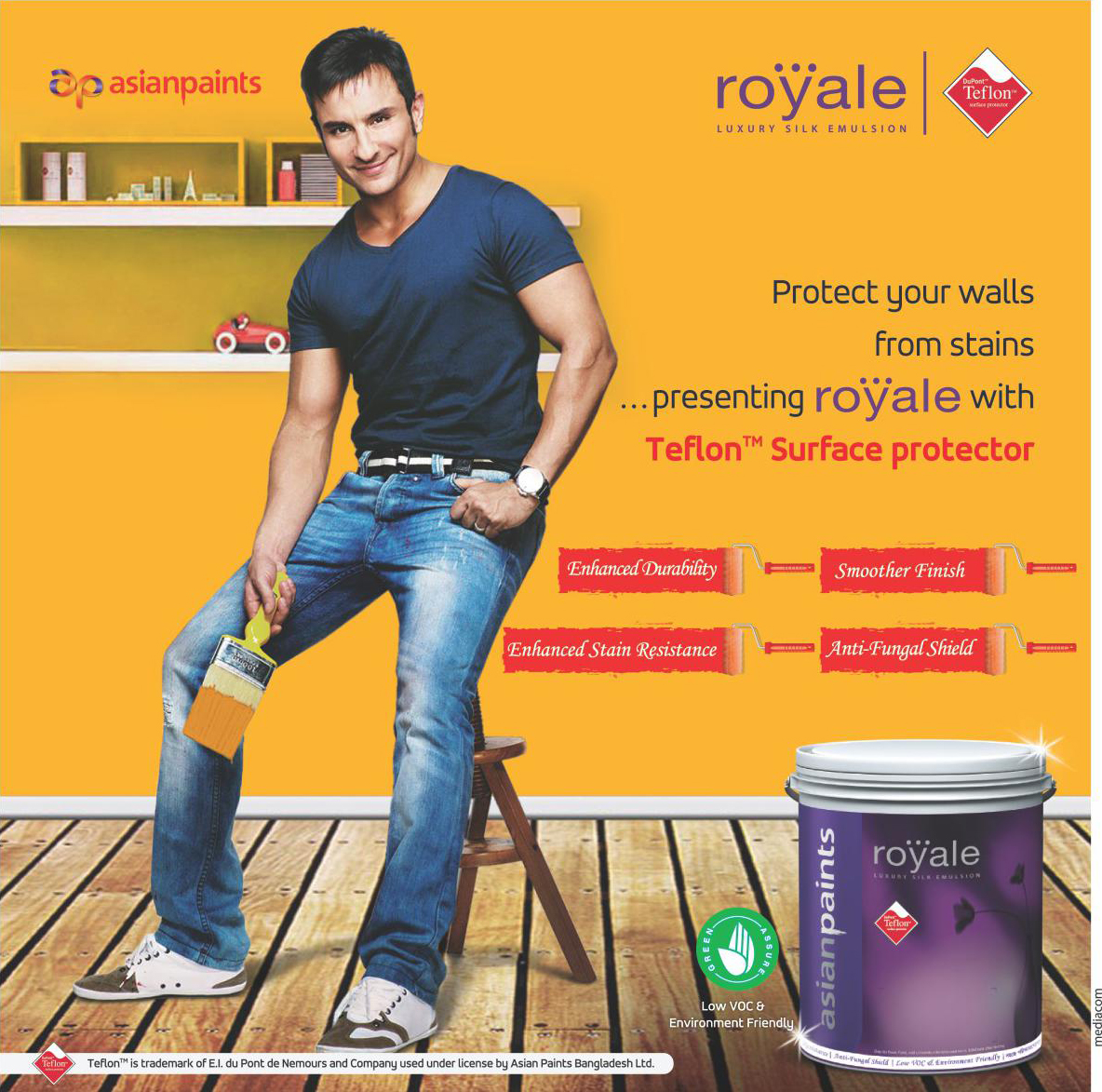 Asian paints advertisements