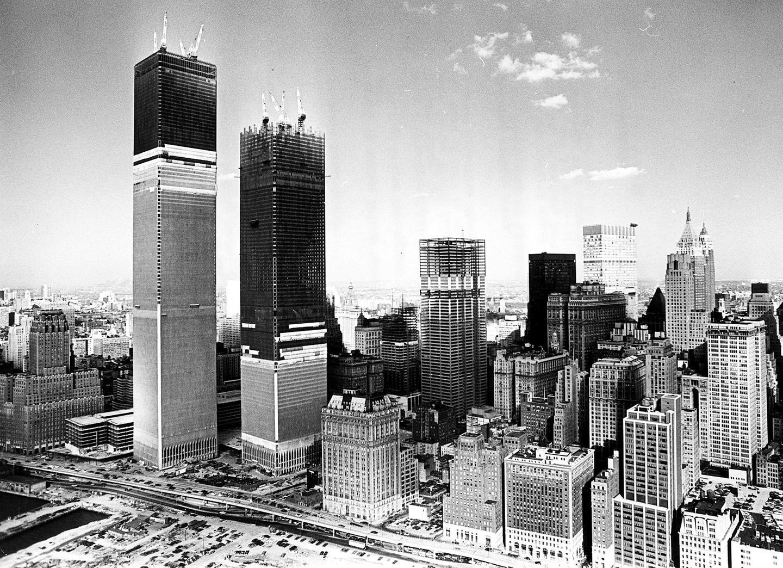 World Trade Center Building Remains