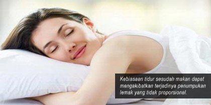 akibat tidur setelah sahur