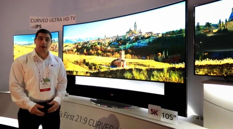 Ultra HD TV,曲面電視,Curved OLED
