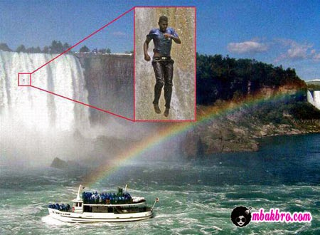 Pelaku bunuh diri tertangkap kamera turis