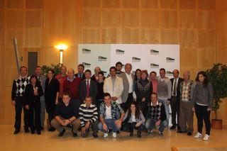 alguns dels guanyadors a la Nit del P&P