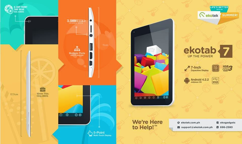 New & Promising Electronic Gadgets by Ekotek!