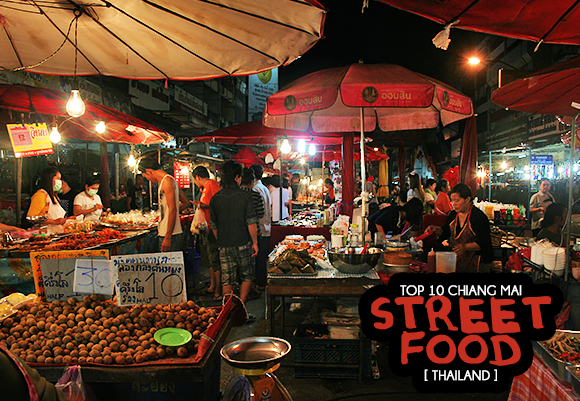 Top 10 Street Food Dishes in Chiang Mai Thailand