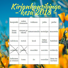 Ota haasteeksi kesäinen bingo!