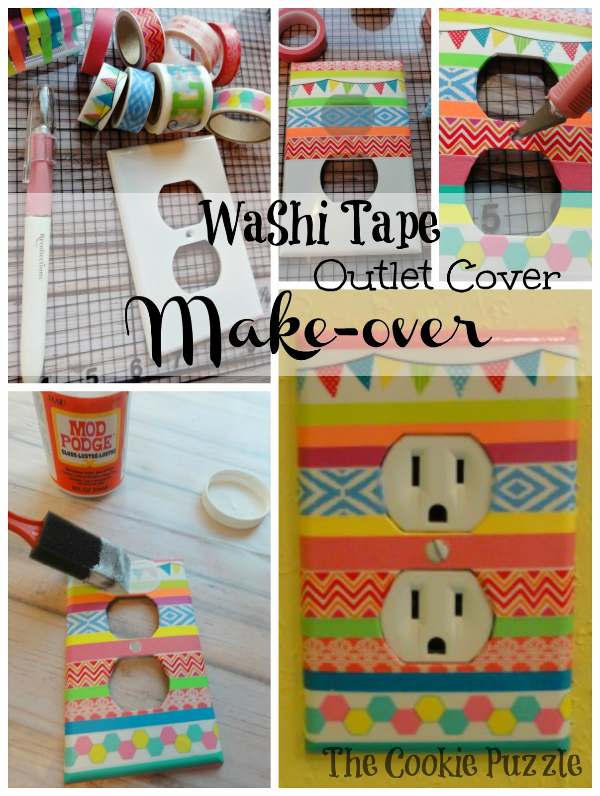 Washi Tape Outlet Cover