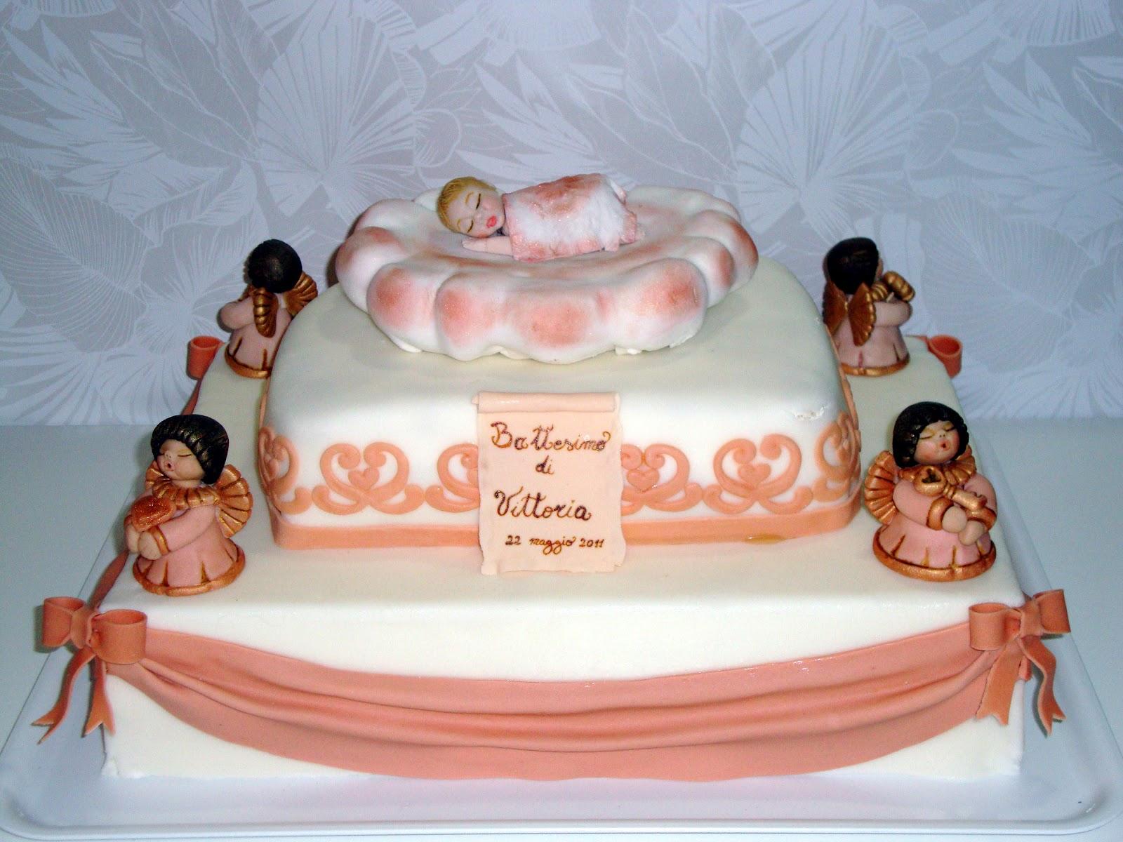 Favoloso Very's Cake: bimba su nuvoletta con angioletti Thun LL47