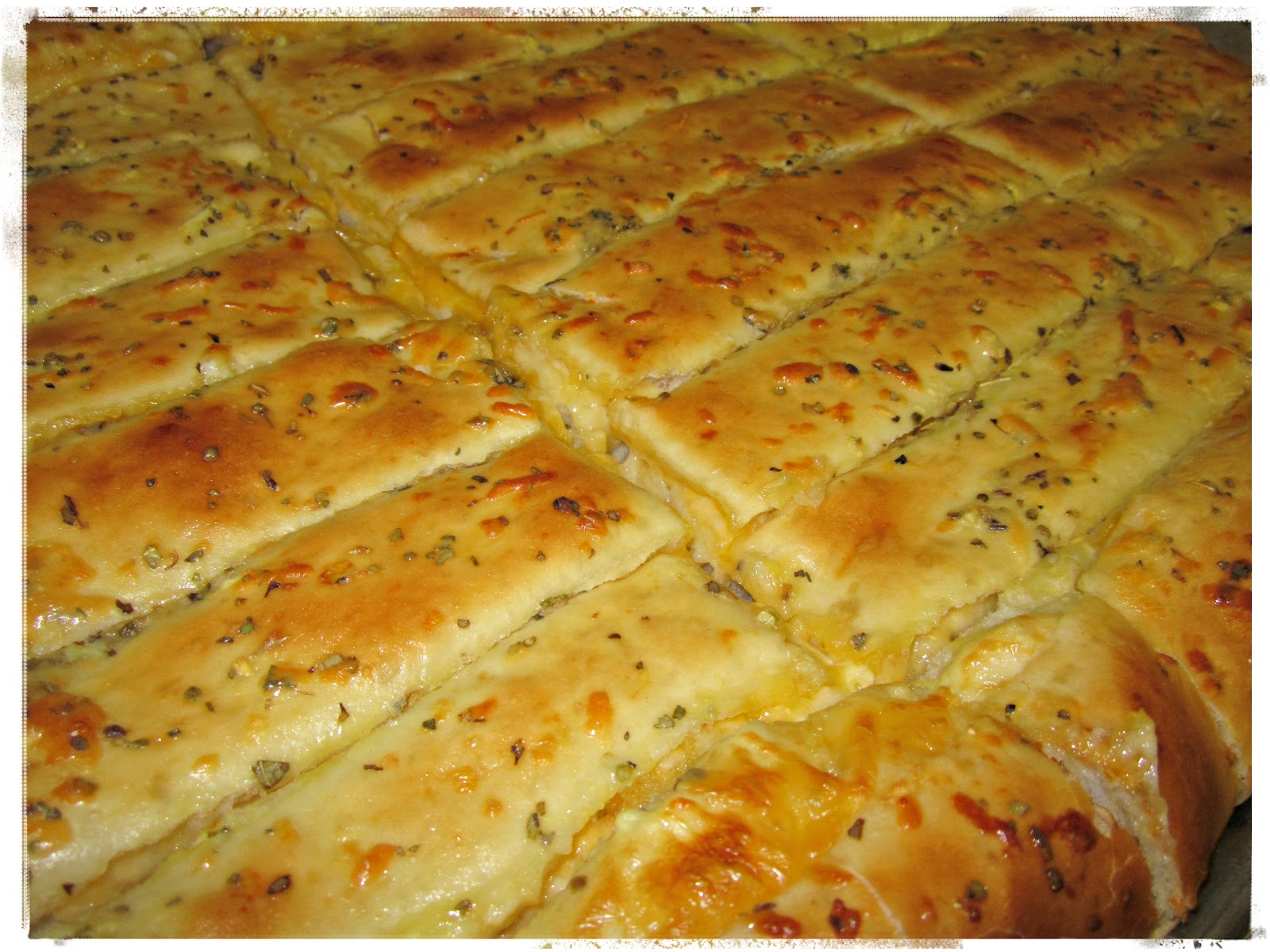 ... by AJK: Baker's Review Wednesday 43: Cheese Stuffed Breadsticks