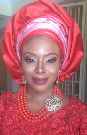 Beautiful Bride to be: Check out Dolapo Oni's outfit on her Introduction Day