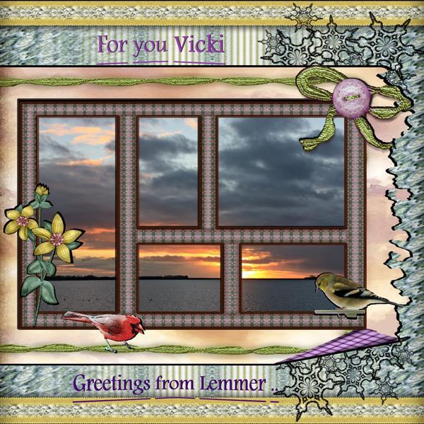 For you Vicki