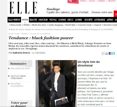 Elle Black Fashion Power Un Style Loin Du Streetwear