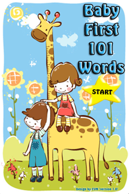 Baby 101 words for iPhone