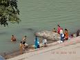 Bain dans le Ganga