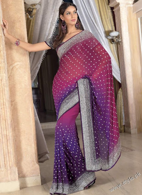 Unique-Saree-Designs-For-Summer-2012
