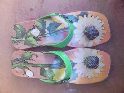 Kelom Lukis bunga Matahari,kelom etnik,kelom geulis batik,kelom geulis,kelom lukis,kelom geulis bunga,kelom