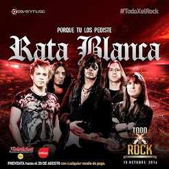 """RATA BLANCA EN EL """"ESTADIO DE LA UNSA"""" (PERÚ) - 15/10/2016"""