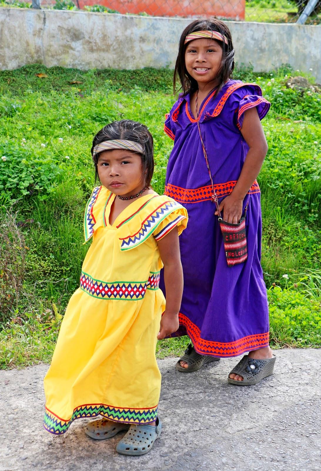 Boquete Indigenous locals at Chiriqui Panama