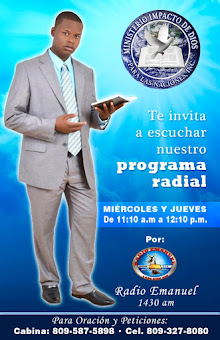 MINISTERIO IMPACTO DE DIOS