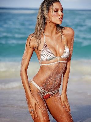 Britt Maren looks sexy and hot for Victoria's Secret sexy bikini model