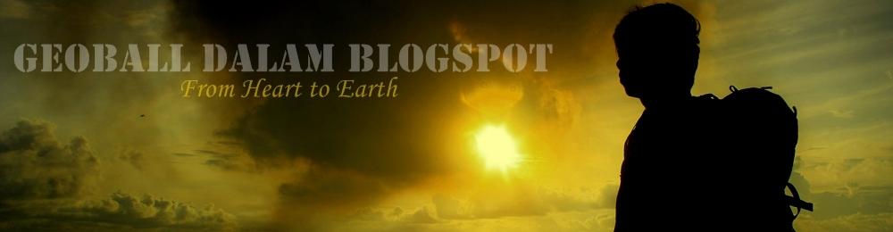 Geoball dalam blogspot