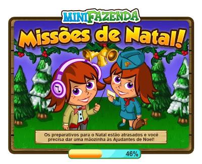 Missão: Natal mini fazenda