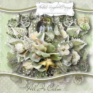 """All Is Calm"" by Ilonka´s Scrapbook Designs - mein Layout"